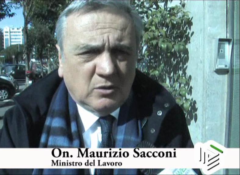 Intervista al Ministro Maurizio Sacconi